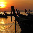 Krabi Sunset by thatssoron
