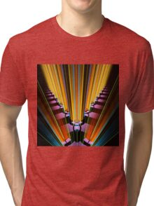 Beaming in colors Tri-blend T-Shirt