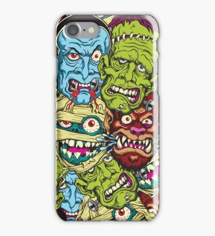 Movie Monsters iPhone Case/Skin