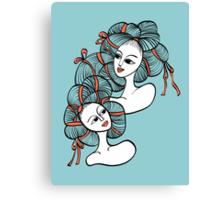 Ramen Girls Canvas Print