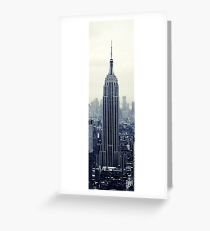 Empire State Building - New York Greeting Card