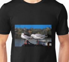 Seagulls Waiting For Lunch Unisex T-Shirt