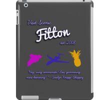 Fitton Tourism iPad Case/Skin