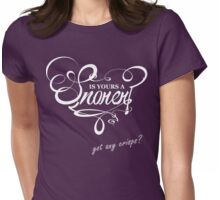 Is Yours a Snorer? Womens Fitted T-Shirt