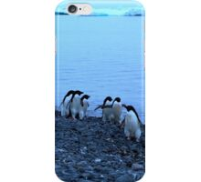 Adelie Penguins in Antarctica,   14 iPhone Case/Skin