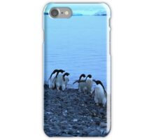 Adelie Penguins in Antarctica,   14 iPhone Case/Skin