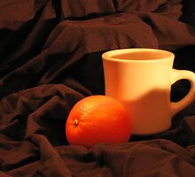 Orange and cup the begining by PeterCannonArt