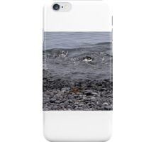 "Adelie Penguins in Antarctica,   15  ""Bottoms Up!"" iPhone Case/Skin"