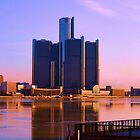 GM Building - Detroit Michigan by Barry W  King