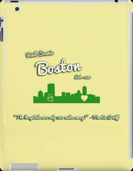 Boston Tourism by initiala