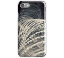 Barb wire iPhone Case/Skin