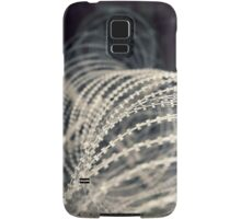 Barb wire Samsung Galaxy Case/Skin
