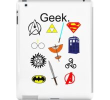 Geek. iPad Case/Skin