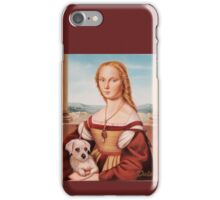 Lady with Giulietta iPhone Case/Skin
