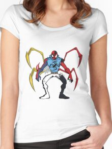 Mashup: Spider-Verse Women's Fitted Scoop T-Shirt