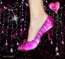 I Love My Pink Shoes!! (Views: 7604 :o) by Rhonda Strickland
