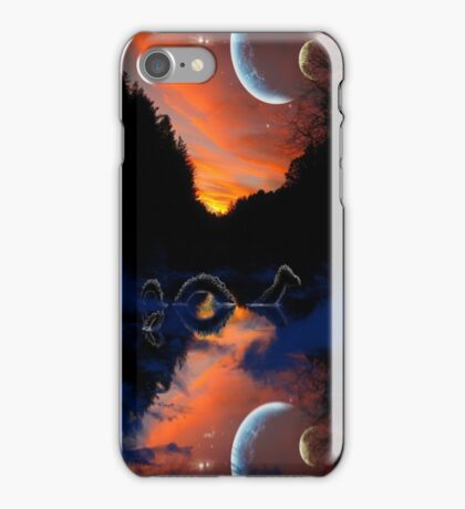 the mystery of mangehelia lake iPhone Case/Skin