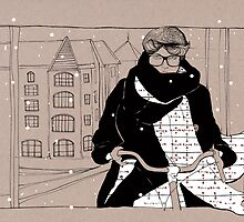 Copenhagen Cycle Chic by genna campton