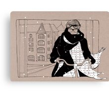 Copenhagen Cycle Chic Canvas Print