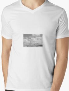 Ramp to the clouds  Mens V-Neck T-Shirt