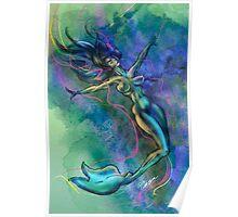 Mermaid Float Poster