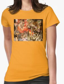 Memorabilia Of A Carnival Barker Womens Fitted T-Shirt