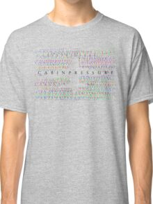 Cabin Pressure Aeroplane Classic T-Shirt