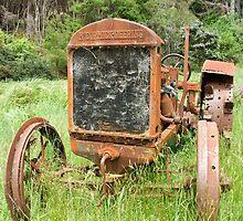Tired Tractor by Marie Watt