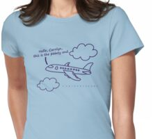 Hello, Carolyn Womens Fitted T-Shirt