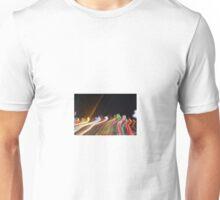 streaks of light  Unisex T-Shirt