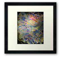trance formations Framed Print