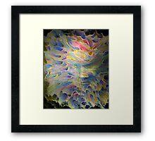 trance formations Framed Print
