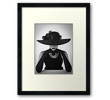 Quietly Confident Framed Print