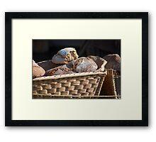 Renaissance Bread Framed Print