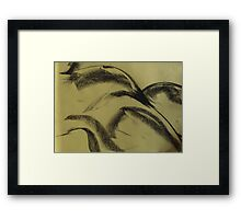 Curvature Framed Print