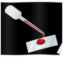 Dexter Blood Slide Poster