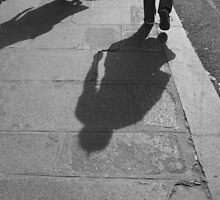 Street Shadow by Fiona Allan Photography