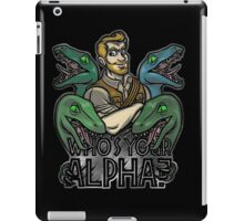 Who's Your Alpha? iPad Case/Skin