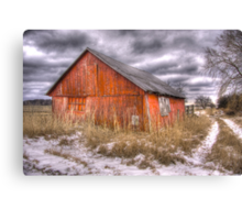 ..and morning brings another empty day Canvas Print