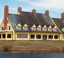 Whalehead Club by intography