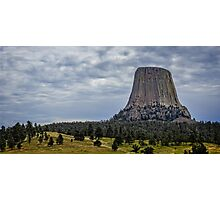 Devils Tower Wyoming Photographic Print