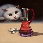 Still life with cat. by ipalbus-art