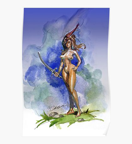 Blue Sword Poster
