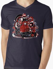 Music Monster Mens V-Neck T-Shirt