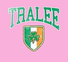 Tralee, Ireland with Shamrock by Greenbaby