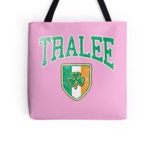 Tralee, Ireland with Shamrock Tote Bag
