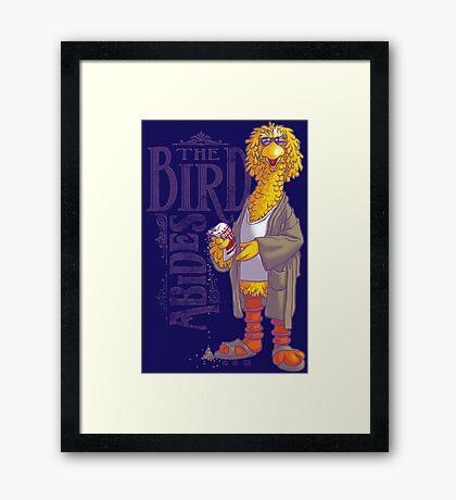The Big Birdowski Parody Framed Print