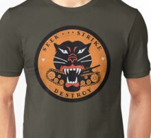 Seek Strike Destroy Tank Destroyer Emblem Unisex T-Shirt