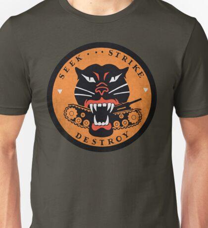 Seek Strike Destroy Tank Destroyer Emblem Unisex T-Shirt
