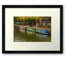 Riverside Rooms Framed Print